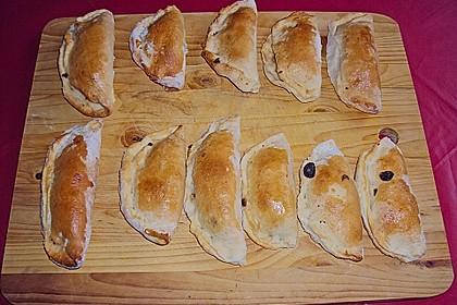 Empanadas (Teigtaschen mit Hackfleischfüllung) 6