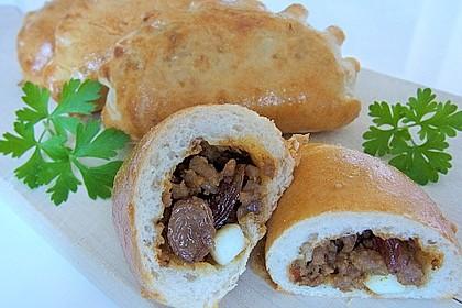 Empanadas (Teigtaschen mit Hackfleischfüllung) 1