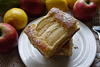 Apfelkuchen schnell und fein 40