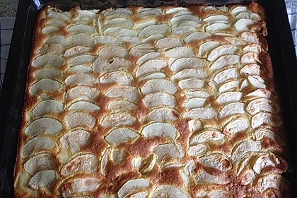 Apfelkuchen schnell und fein 214