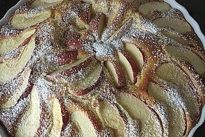 Apfelkuchen schnell und fein 30