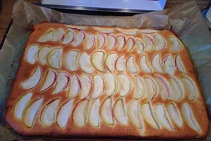Apfelkuchen schnell und fein 136