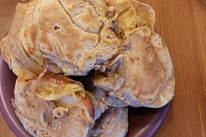 Schaum - Apfeleierkuchen