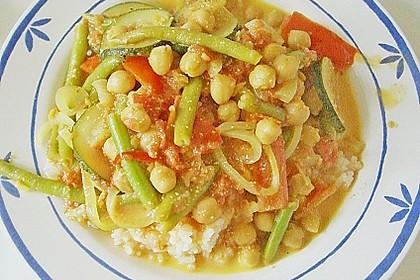 Vegetarisches Gemüsecurry 35