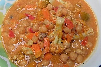 Vegetarisches Gemüsecurry 34