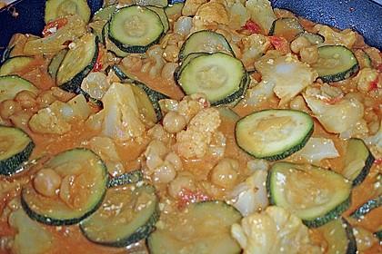 Vegetarisches Gemüsecurry 31