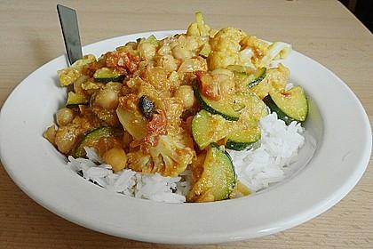 Vegetarisches Gemüsecurry 4