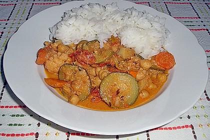 Vegetarisches Gemüsecurry 30