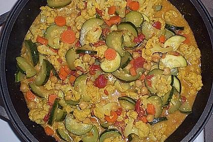 Vegetarisches Gemüsecurry 23