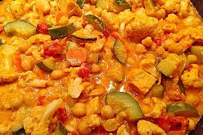 Vegetarisches Gemüsecurry 33