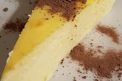Käsekuchen ohne Boden mit Mascarpone 1
