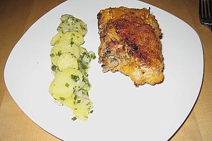 Kartoffelsalat  ganz grün 1