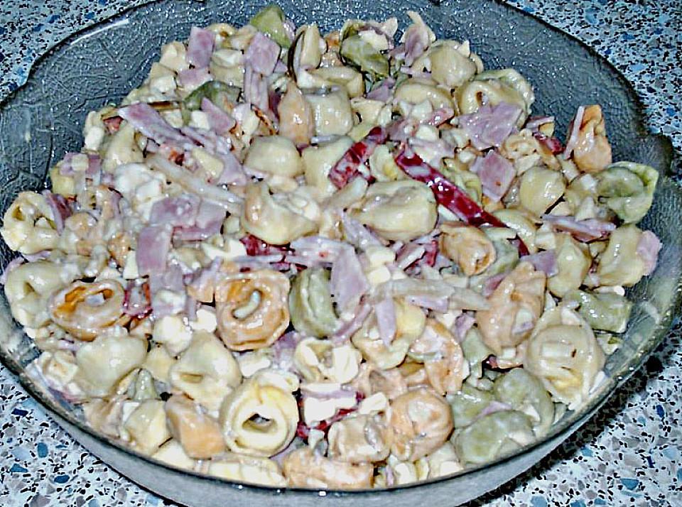 Tortellinisalat mit miracel whip