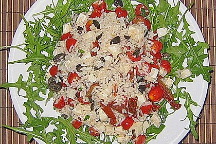 Italienischer Reissalat 12