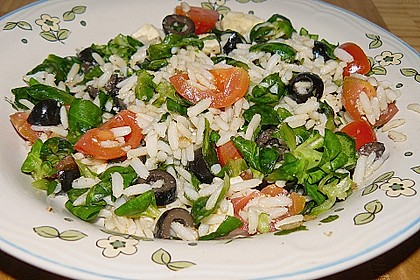 Italienischer Reissalat 10