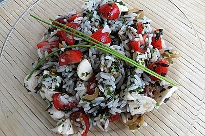Italienischer Reissalat 8