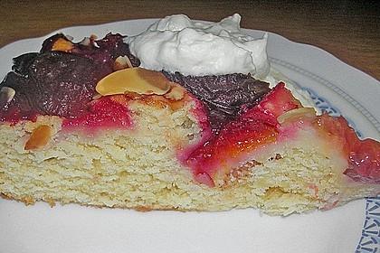 Zwetschgenkuchen mit Quark 6