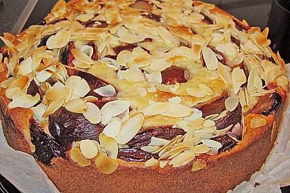 Zwetschgenkuchen mit Quark 3