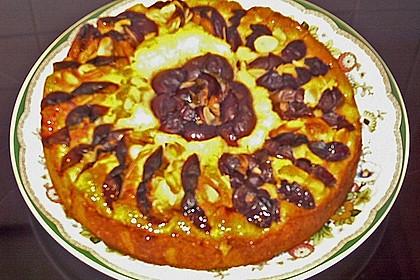 Zwetschgenkuchen mit Quark 9
