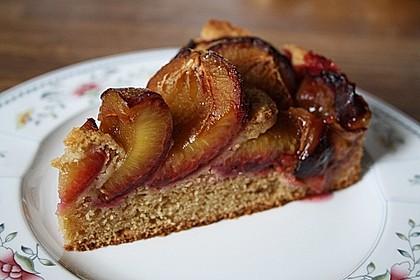 Zwetschgenkuchen mit Quark 1