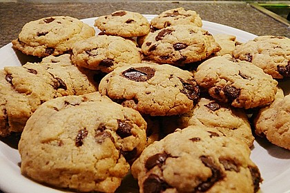 Chewy Chocolate Chip Cookies 12