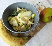 Apfel und Bananen - Obstsalat (Bild)
