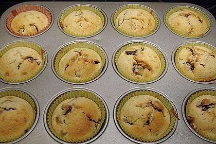 Backpflaumen Muffins 1