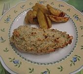 Hähnchenbrust mit Kräuterkruste (Bild)