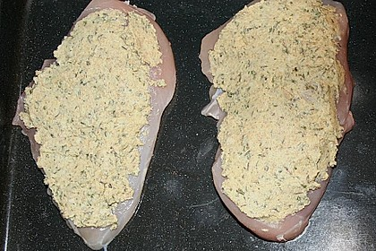 Hähnchenbrust mit Kräuterkruste 23