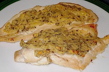 Hähnchenbrust mit Kräuterkruste 19
