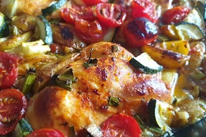 Toskanischer Hähnchen-Auflauf (Bild)