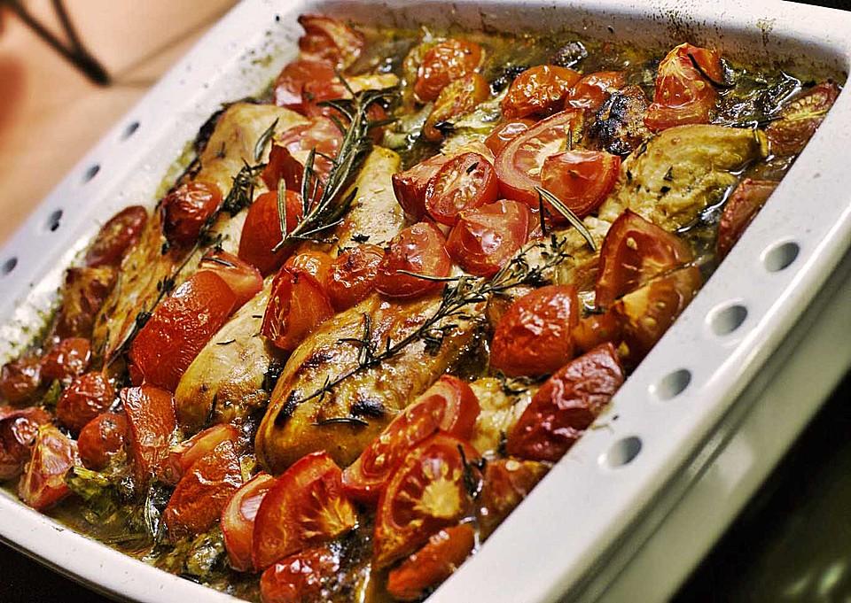 Toskanischer Hähnchen Auflauf Von Aennica Chefkochde