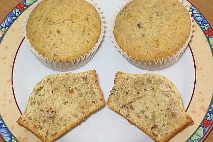 Honig - Nuss - Zitrone Muffins 1