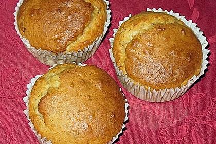 Honig - Nuss - Zitrone Muffins
