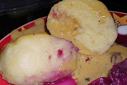 Surina's seidene Kartoffelklöße aus gekochten Kartoffeln (Bild)