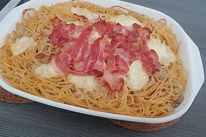 Spaghetti-Auflauf mit Speck 50