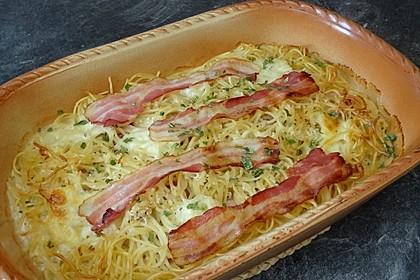Spaghetti-Auflauf mit Speck 15