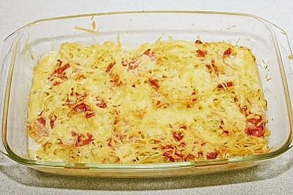 Spaghetti-Auflauf mit Speck 68