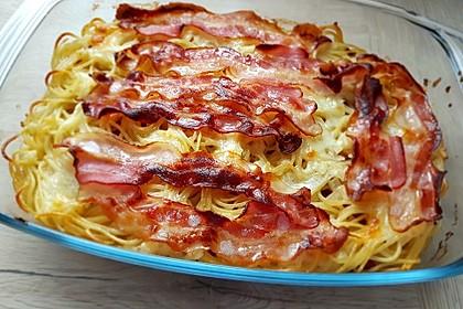 Spaghetti-Auflauf mit Speck 25