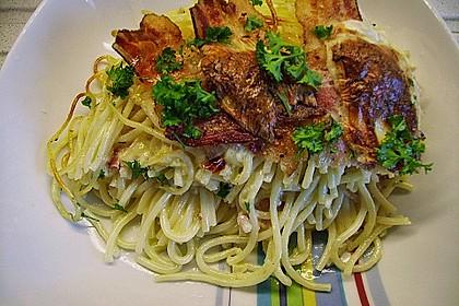Spaghetti-Auflauf mit Speck 13