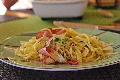 Spaghetti-Auflauf mit Speck 6