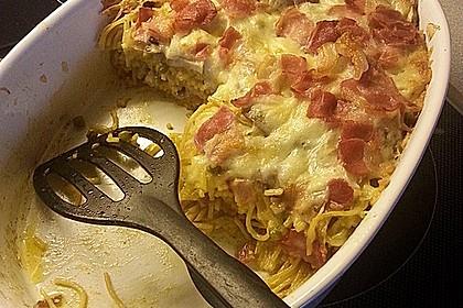 Spaghetti-Auflauf mit Speck 44