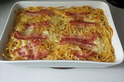 Spaghetti-Auflauf mit Speck 16