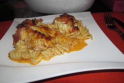 Spaghetti-Auflauf mit Speck 43