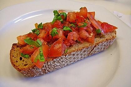 Bruschetta mit kalten Tomaten 2