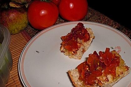 Bruschetta mit kalten Tomaten 22