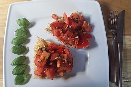 Bruschetta mit kalten Tomaten 27