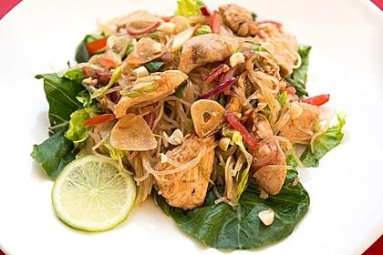 Thai-Glasnudelsalat - Yam Woon Sen 7