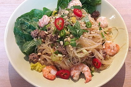 Thai-Glasnudelsalat - Yam Woon Sen 3