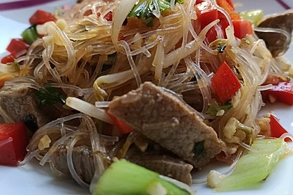 Thai-Glasnudelsalat - Yam Woon Sen 20